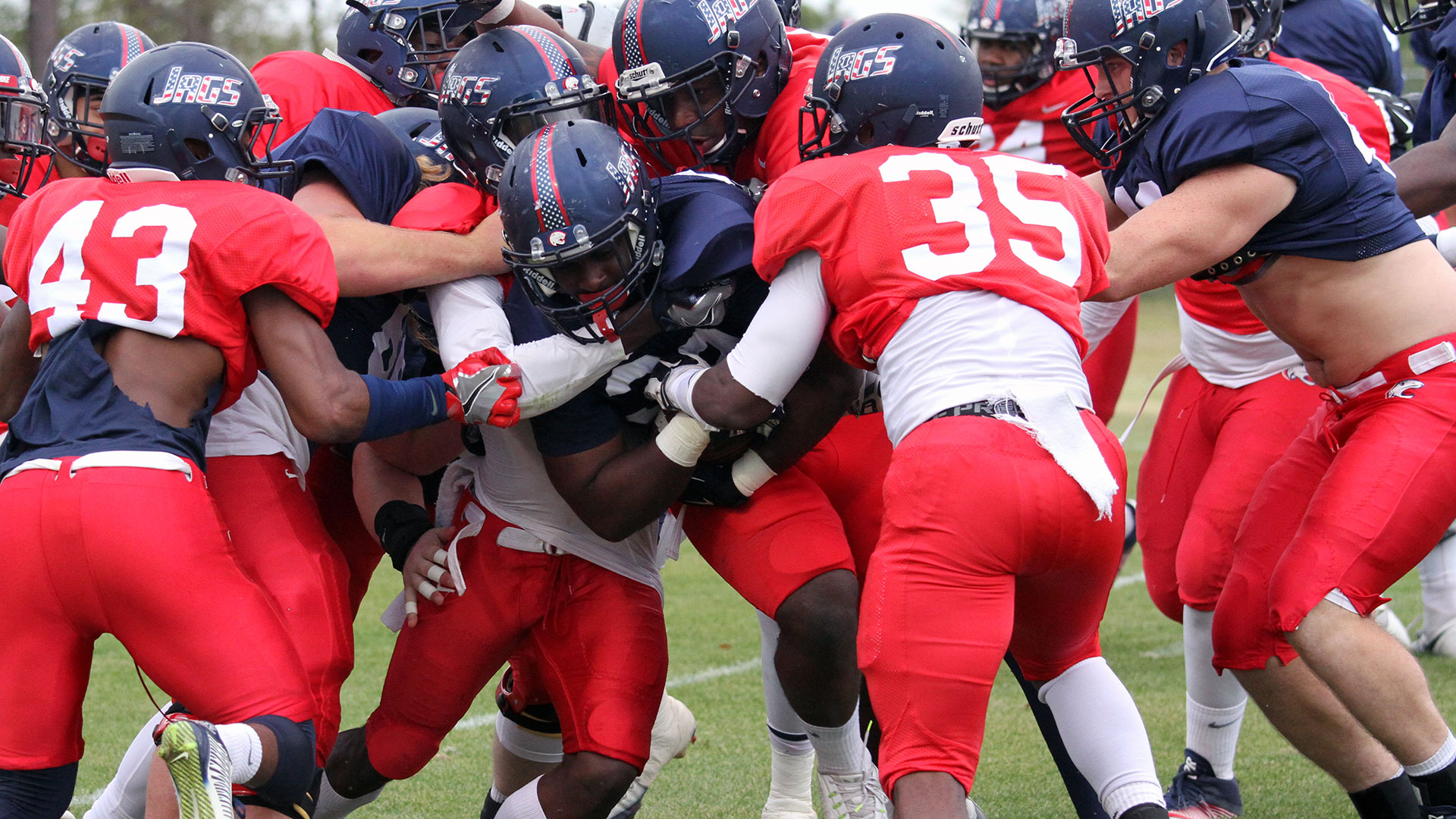 The official website of the south alabama jaguars university of south alabama football spring scrimmage report 324 sciox Gallery