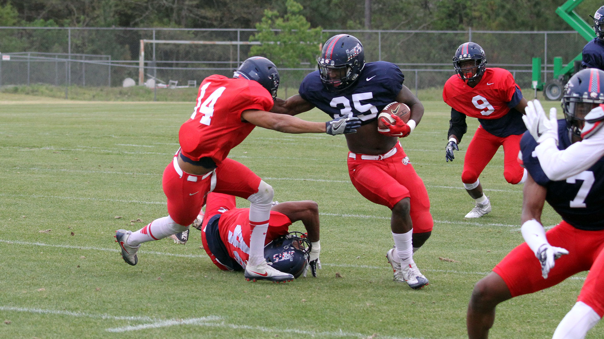 The official website of the south alabama jaguars university of south alabama spring football practice report 45 sciox Image collections