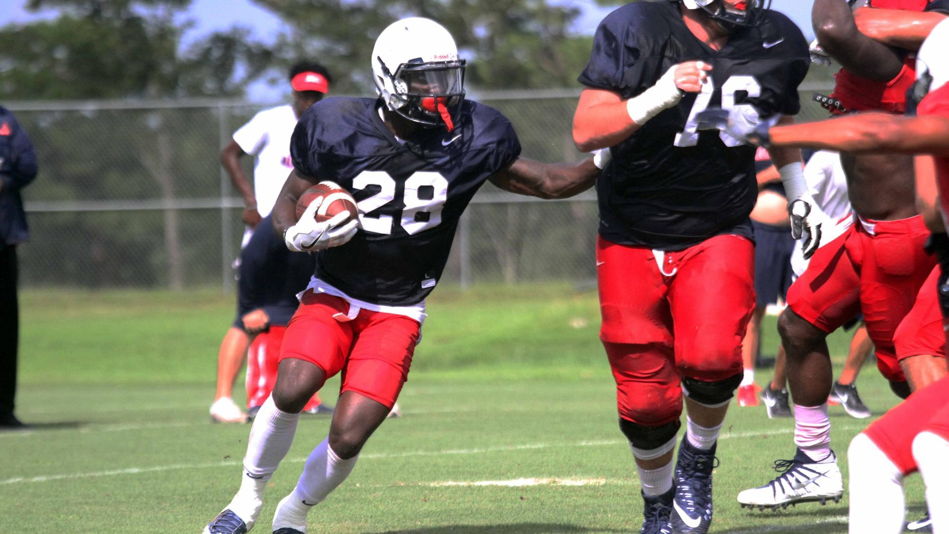 The official website of the south alabama jaguars university of south alabama football practice report 818 sciox Image collections