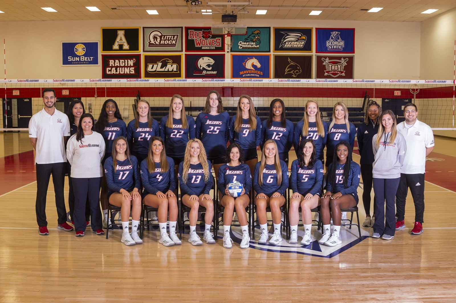 2018 Women S Volleyball Roster University Of South Alabama Athletics