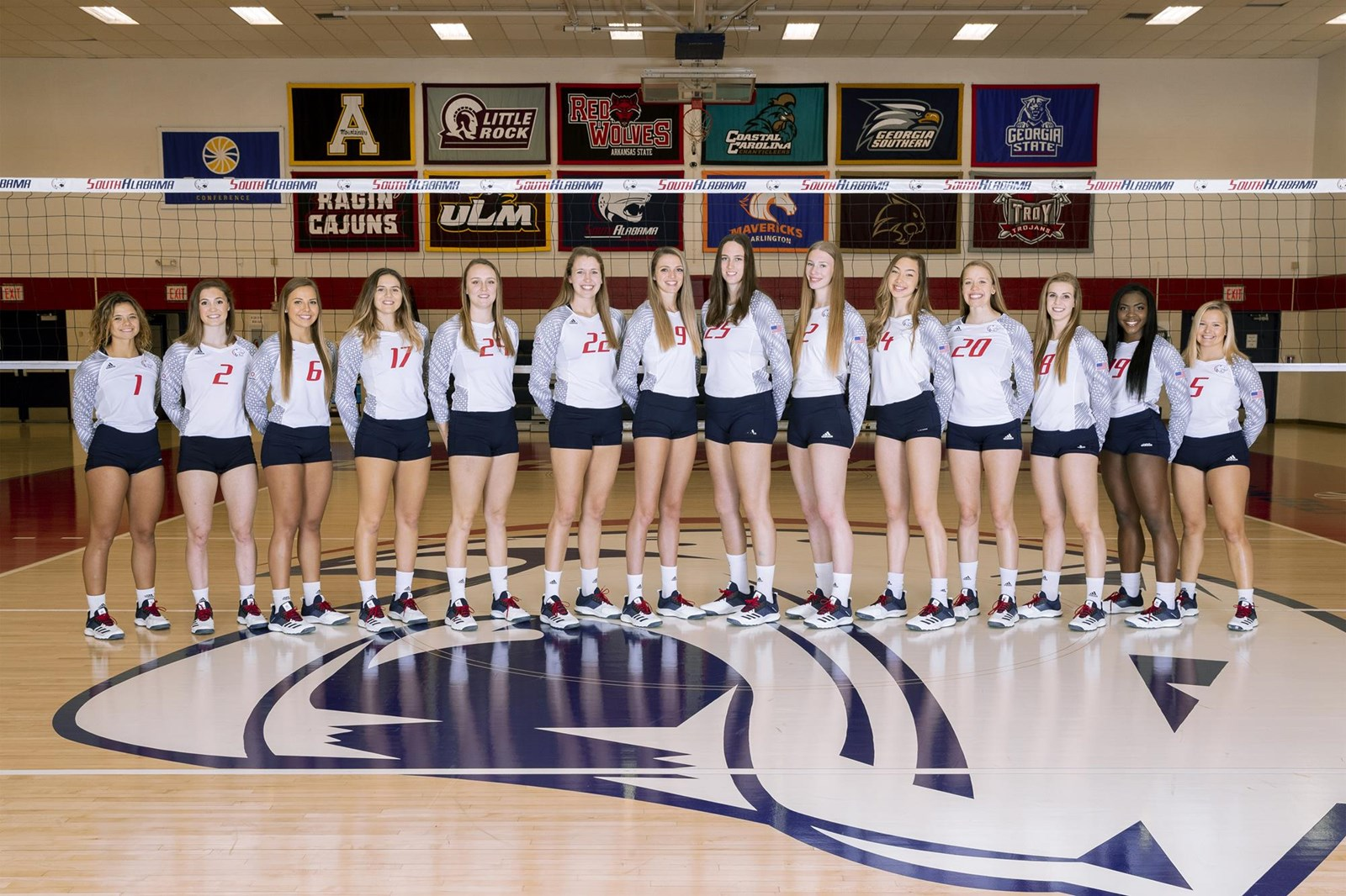 2019 Women S Volleyball Roster University Of South Alabama Athletics